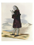 Bernard De Jussieu (1699-1777) C.1820 (Coloured Engraving) Giclee Print by Armand Guilleminot