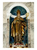 Saint Lizier (Wood) Giclee Print by  French