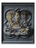 The Resurrection of Christ, Nineteenth Panel of the North Doors of the Baptistery of San Giovanni Giclee Print by Lorenzo Ghiberti
