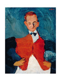 The Room-Service Waiter Giclee Print by Chaim Soutine