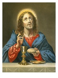 The Redeemer Premium Giclée-tryk af Carlo Dolci
