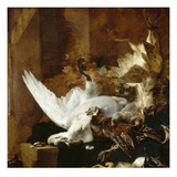 Still Life with a Dead Swan, c.1651 Giclee Print by Jan Baptist Weenix