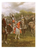 King Henry V at Agincourt Giclee Print by  English
