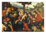 The Adoration of the Shepherds Giclee Print by Jacopo Palma