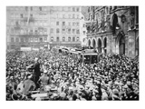 Munich Putsch, 1923 (B/W Photo) Giclee Print by  German photographer