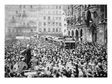 Munich Putsch, 1923 (B/W Photo) Giclee Print by  German photographer