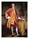 Portrait of Frederick Calvert (Colour Litho) Giclee Print by Johann Ludwig Tietz