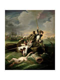 Watson and the Shark, 1782 Giclee Print by John Singleton Copley