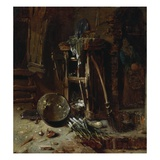 A Kitchen Corner, C.1642-44 (Oil on Wood Panel) Giclee Print by Willem Kalf