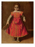 Federico Ubaldo Della Rovere Aged 2, 1607 (Oil on Canvas) Giclee Print by Federico Fiori Barocci or Baroccio