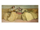 Panel for Music Room, 1894 (Oil on Canvas) Giclee Print by John White Alexander