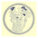 Prokne, Philomela and Itys, Illustration from 'Greek Vase Paintings' Giclee Print by  English
