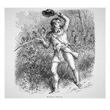 Beaujeu's Advance (Engraving) Giclee Print by  English