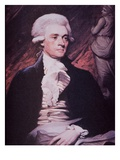 Thomas Jefferson as Us Ambassador to France, 1786 (Oil on Canvas) Giclee Print by Mather Brown