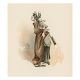 The Litle Marchioness, Illustration from 'Character Sketches from Charles Dickens', C.1890 Giclee Print by Joseph Clayton Clarke