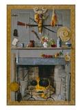 Grandma's Hearthstone, 1890 Premium Giclee Print by John Haberle