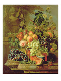Still Life of Fruit Giclee Print by Johannes Hendrick Fredriks