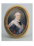 Portrait of Prince Charles Nicholas Othon of Nassau-Siegen, 1790 (W/C and Gouache on Ivory) Reproduction proc&#233;d&#233; gicl&#233;e par Friedrich Heinrich Fuger