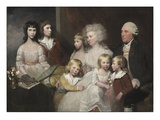 The Todd Family, C.1785 (Oil on Canvas) Giclee Print by Gilbert Stuart