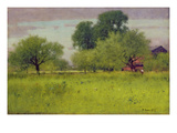Apple Orchard, 1892 (Oil on Canvas) Giclee Print by George Snr. Inness