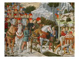 The Journey of the Magi to Bethlehem, the Right Hand Wall of the Chapel, C.1460 Giclee Print by Benozzo di Lese di Sandro Gozzoli