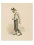 David Copperfield, Illustration from 'Character Sketches from Charles Dickens', C.1890 Giclee Print by Joseph Clayton Clarke