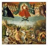 The Last Judgement, C.1525 (Oil on Oak Panel) Giclee Print by Jan II Provost