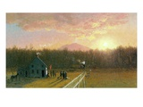 The Afternoon Train, 1867 Giclee Print by Jervis Mcentee