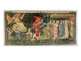 Passing of Venus, Designed in 1901 and Woven in 1926 (Wool, Silk and Linen Tapestry) Giclee Print by Edward Burne-Jones