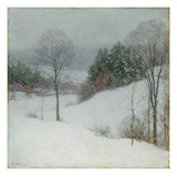 The White Veil, 1909 Giclee Print by Willard Leroy Metcalf