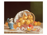 Still Life with Yellow Apples, 1858 Giclee Print by John Francis