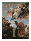 The Assumption of the Virgin, 1673 (Oil on Canvas) Giclee Print by Mateo Cerezo