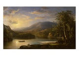 Ellen's Isle, Loch Katrine, 1871 (Oil on Canvas) Giclee Print by Robert Scott Duncanson
