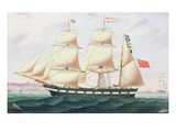 The Barque `Cormorant' Giclee Print by  English