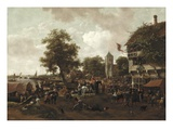 The Fair at Oegstgeest, c.1655/60 Giclee Print by Jan Havicksz. Steen