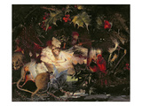 The Fairy Bower (Oil on Canvas) Reproduction procédé giclée par John Anster Fitzgerald