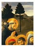 Detail of St. Dominic from the Crucifixion Giclee Print by Fra Angelico
