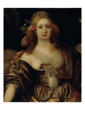 Portrait of a Young Woman Giclee Print by Girolamo Forabosco