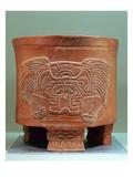 Tripod Vase, Late Xolalpan, 550-650 (Stoneware) Giclee Print by  Teotihuacan