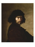 Self-Portrait, 1650S (Oil on Canvas) Giclée-tryk af Salvator Rosa