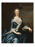Mrs. Charles Carroll of Annapolis, 1753/54 Giclee Print by John Wollaston