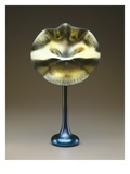 Blue and Gold Favrile &#39;Jack-In-The-Pulpit&#39; Vase, 1915 (Glass) Giclee Print by Louis Comfort Tiffany