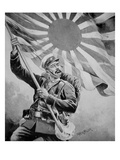 Soldier During the Russo-Japanese War (Litho) Giclee Print by Frank Feller