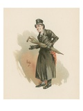 Sampson Brass, Illustration from 'Character Sketches from Charles Dickens', C.1890 (Colour Litho) Giclee Print by Joseph Clayton Clarke