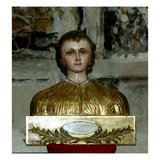 Reliquary of St. Pasteur (Painted Wood) Giclee Print by  French