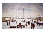 View of Fort Garry (Colour Litho) Giclee Print by  English