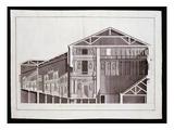 Design by Andrea Palladio, Engraved by Gaetano Testolini (Fl.1760-1811) Giclee Print by Ottavio Bertotti-scamozzi