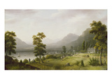 Carter's Tavern at the Head of Lake George, 1817-18 (Oil on Canvas) Giclee Print by Francis Guy