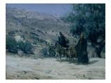 Flight into Egypt, 1899 Reproduction giclée Premium par Henry Ossawa Tanner
