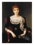 Portrait of a Lady Giclee Print by Charles Edward Halle